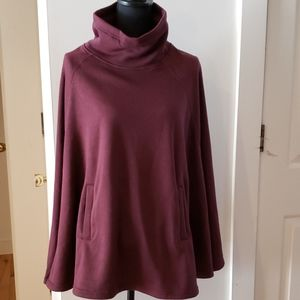 32 Degrees Ladies Cozy Fleece Poncho